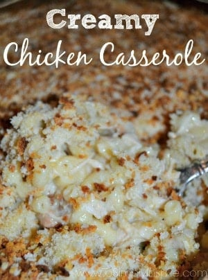 Creamy Chicken Casserole