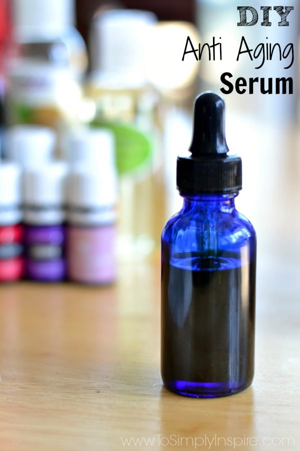 This simple DIY Anti Aging Serum will leave your skin so soft and subtle. It's chemical free and packed full of wonderful antioxidants and other nutrients.