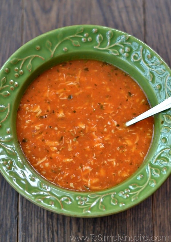 This mouthwatering Tomato Basil Chicken Soup is healthy, robust and so quick to make. Perfect for a cozy lunch or dinner any day.