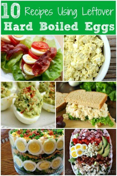 10 Recipes Using Leftover Hard Boiled Eggs