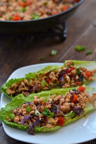 Thai Lettuce Wraps1
