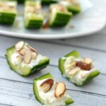 Cucumber Feta Bites
