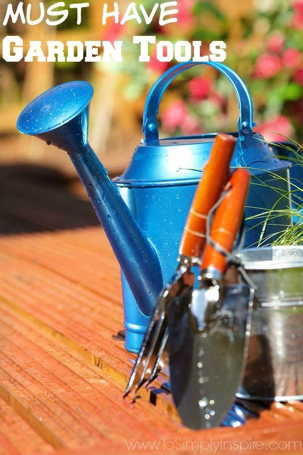 Must have garden tools to simply inspire for Gardening tools must have