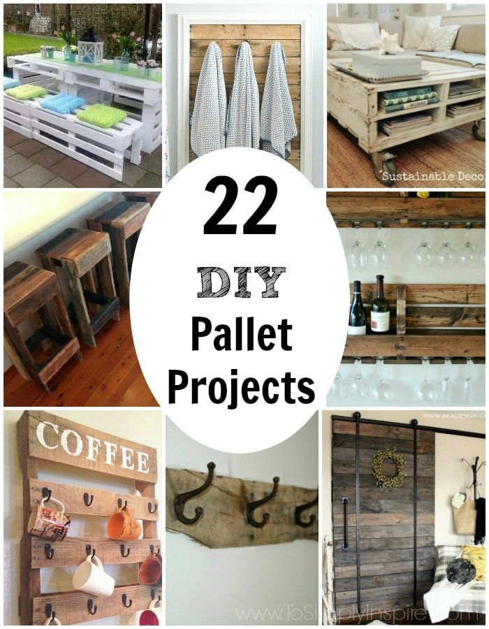 Pallet Projects Are Gaining Huge Popularity In The DIY World. Rightfully  So! You Can