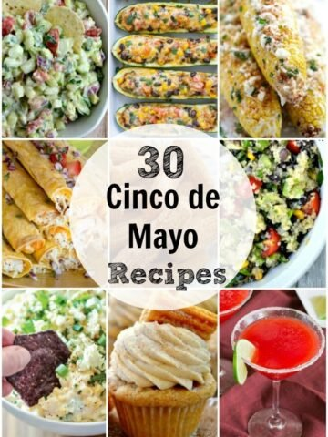 A bunch of different types of mexican recipes