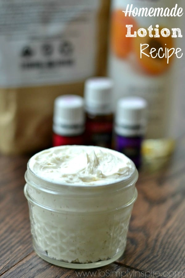 Homemade lotions recipes easy
