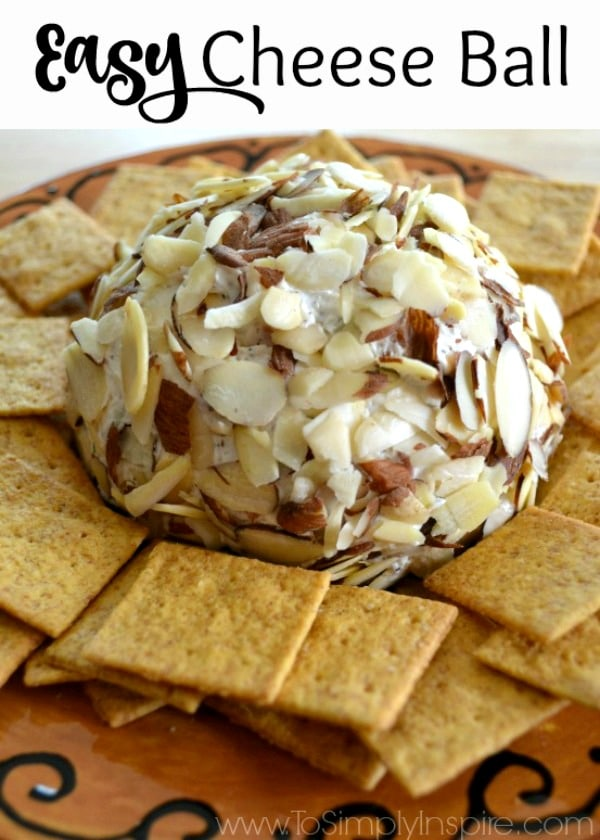 This easy Cheese Ball is truly one of the best appetizers ever! The perfect creamy blend is loaded with flavor and is always a crowd pleaser!
