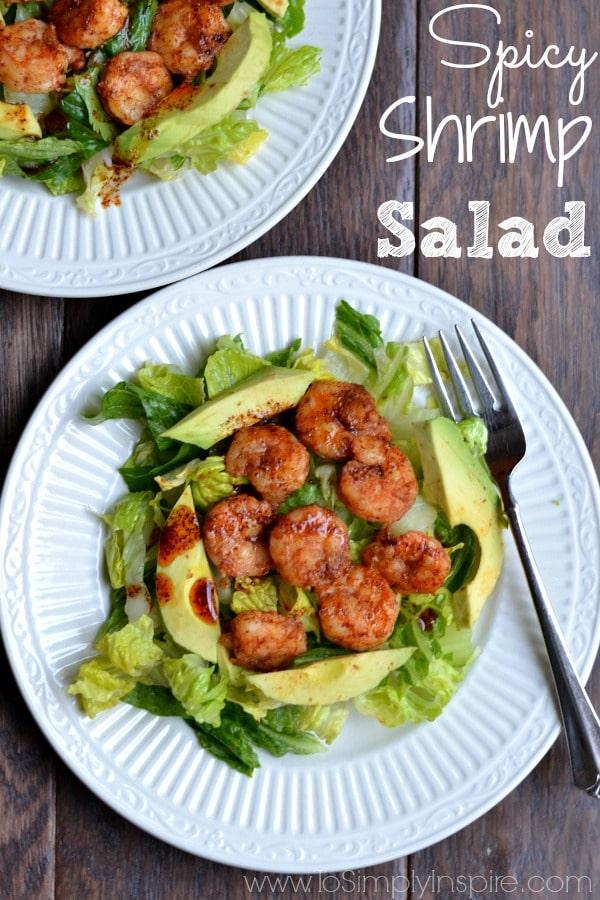 Simple Spicy Shrimp Salad Recipe