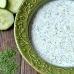 Cucumber Dill Sauce  (Tzatziki Sauce)