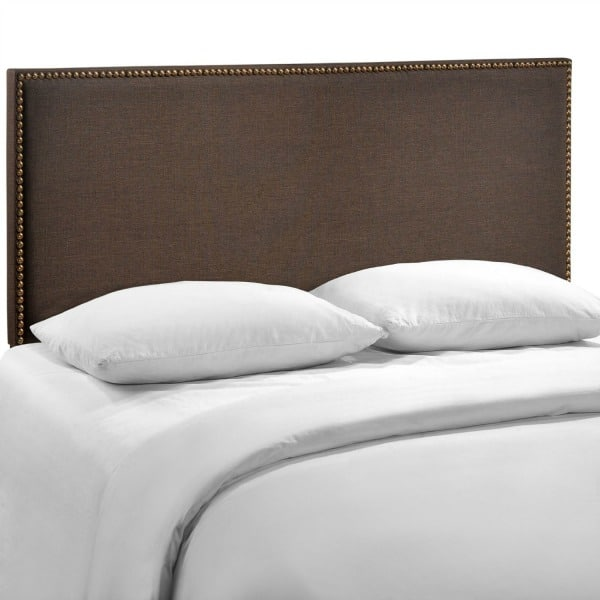 LexMod Region Nailhead Upholstered Headboard