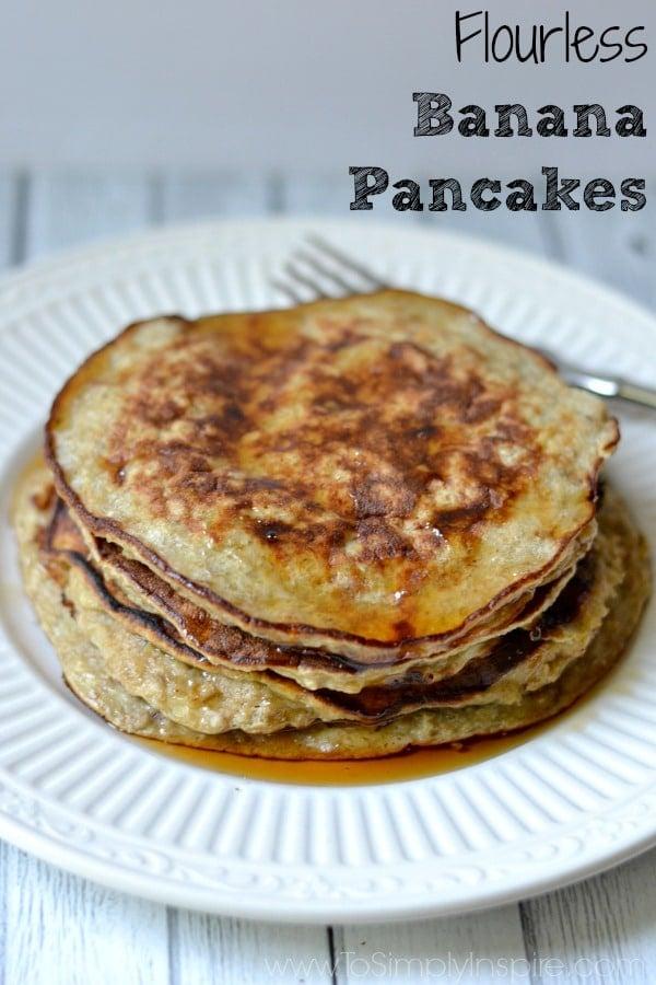 how to make flourless pancakes