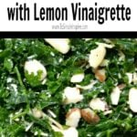 kale salad with lemon dressing