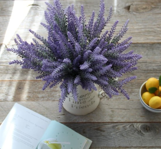 artificial-flower-purple-lavender-bouquet
