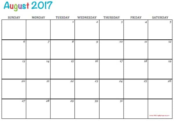 Free Printable  Calendars  To Simply Inspire