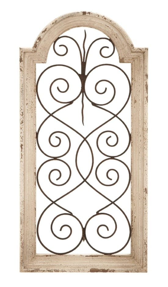 Beautiful farmhouse decor on amazon to simply inspire - Decorative metal wall art panels ...