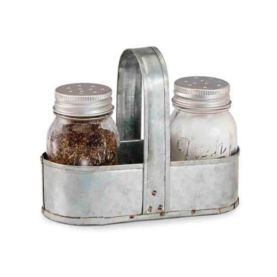 mud-pie-fresh-jar-salt-and-pepper-caddy-set-silver