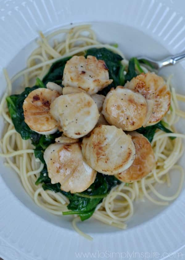 how to cook scallops healthy