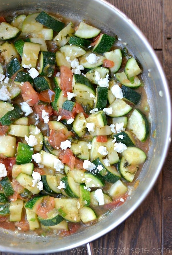 This Sautéed Cilantro Lime Zucchini is a fabulous healthy, gluten free side dish that's ready in less than 15 minutes.
