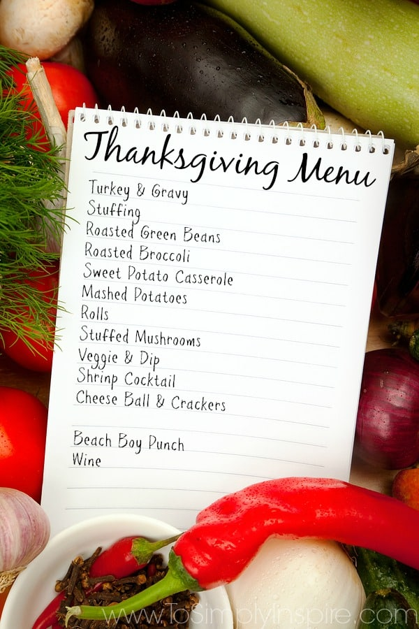 Tips for an Easier Thanksgiving