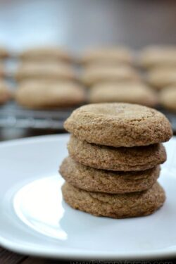 Molasses Cookies {Gluten Free Version Available}