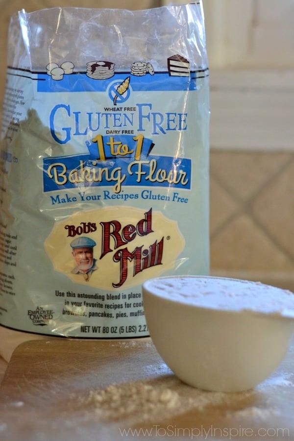 a bag of bob\'s red mill gluten free flour
