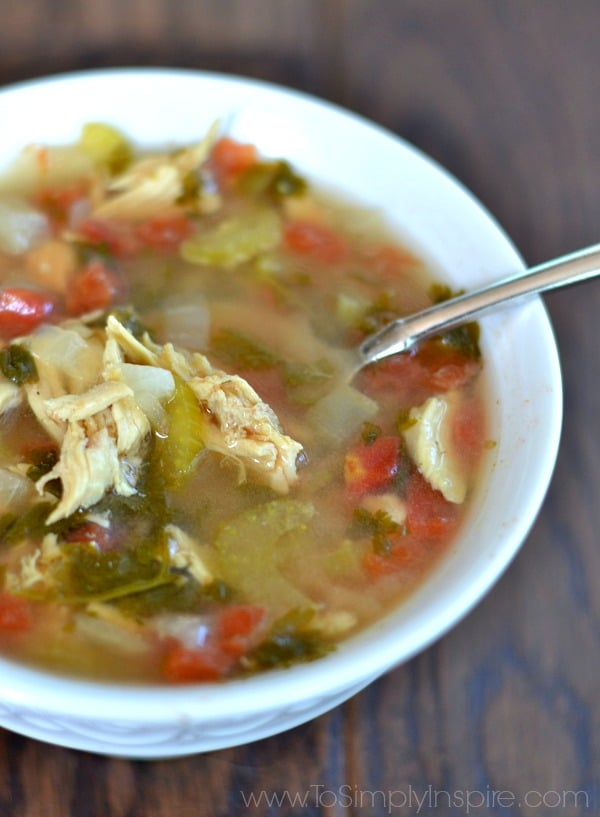 This Cilantro Lime Chicken Soup is fresh, healthy and ultra comforting. Full of delicious flavor, it makes for a fabulous lunch or dinner any time of year.