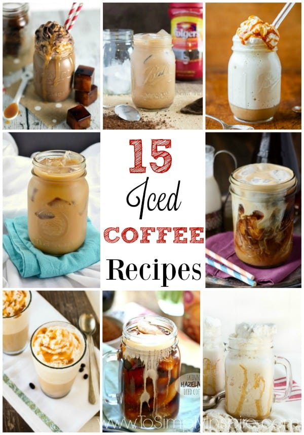 These Iced Coffee Recipes are the perfect morning or afternoon pick-me-up. Not only budget friendly but so easy to whip up yourself!