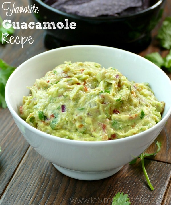 guacamole recipe main