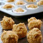Mini Carrot Cake Muffins