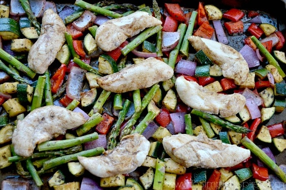 Sheet Pan Balsamic Chicken and Vegetables6