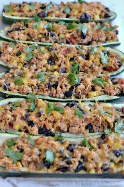 Mexican Zucchini Boats7