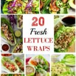 20 Fresh Lettuce Wraps