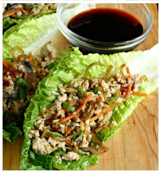Egg Roll Lettuce Wraps - Try any of these fresh and healthy lettuce wraps for a great low-carb alternative to bread.