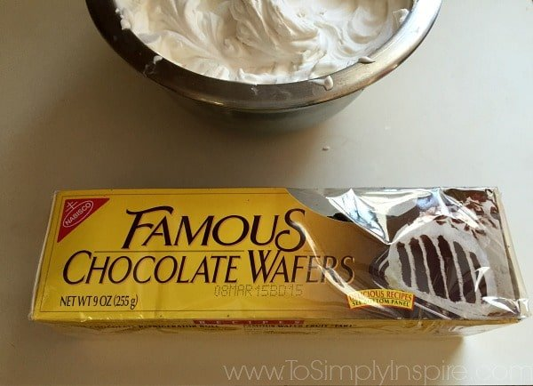 Box of Famous Chocolate Wafer Cake