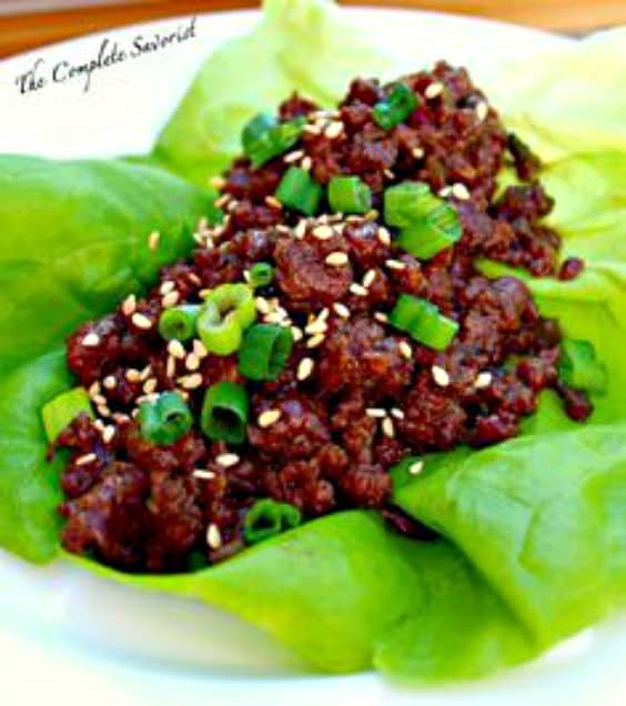 Korean Beef Lettuce Wraps - Try any of these fresh and healthy lettuce wraps for a great low-carb alternative to bread.