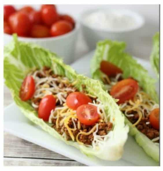 Taco Lettuce Wrap Recipe - Try any of these fresh and healthy lettuce wraps for a great low-carb alternative to bread.