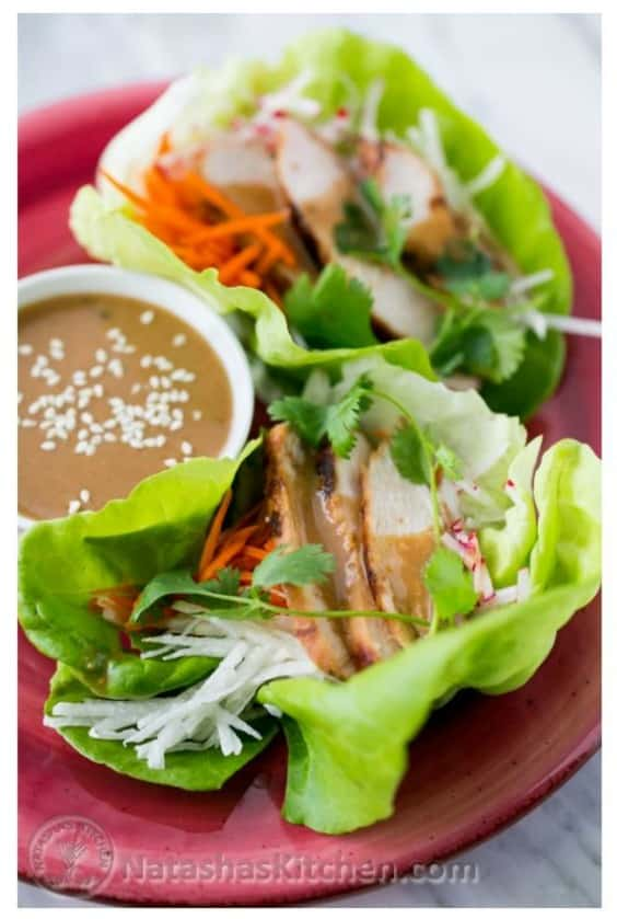 Terah's Delicious Lettuce Wraps - Try any of these fresh and healthy lettuce wraps for a great low-carb alternative to bread.