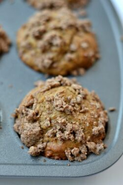 Healthy Coffee Cake Muffins