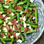 Asparagus Bacon and Egg Salad with Dijon Vinaigrette