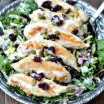 Simple Chicken and Kale Salad
