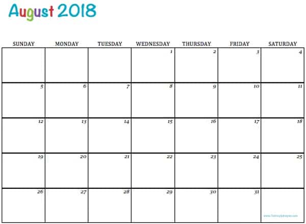 May 2018 Calendar Printable Templates | This site provides ...