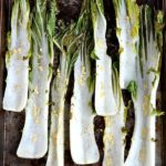 Garlic Roasted Bok Choy