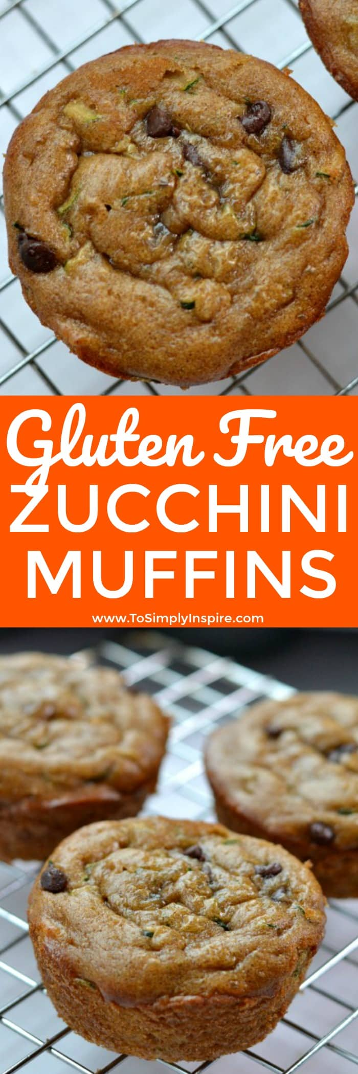 These gluten free zucchini muffins are flourless, oil-free and spectacularly moist and delicious! Made with wholesome ingredients for a perfect healthy snack.