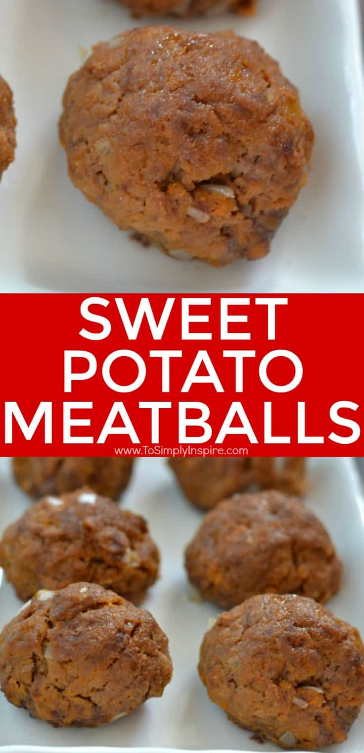 These Sweet Potato Meatballs are a unique blend of ingredients for a new twist on a favorite meal idea.