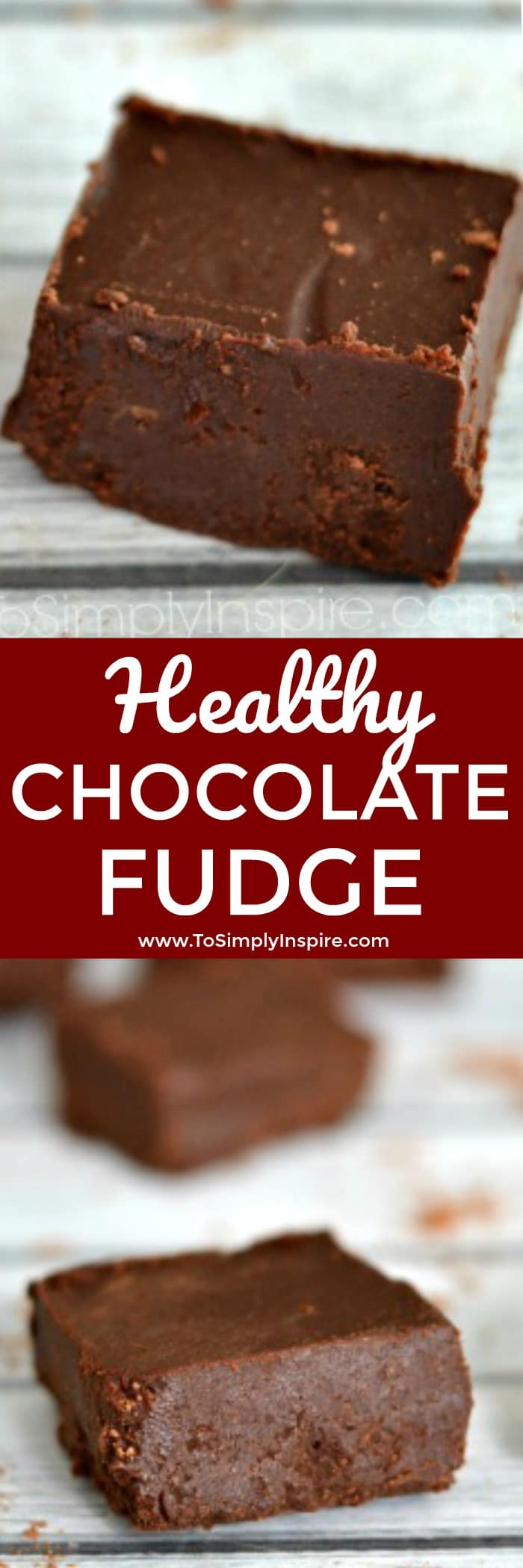 Made with just 4 ingredients, this healthy chocolate fudge is a creamy, mouth-watering delight. Gluten free, dairy free and no refined sugar.