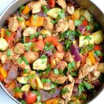 Mexican Chicken Zucchini Skillet