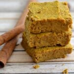 Grain-Free Pumpkin Pie Bars