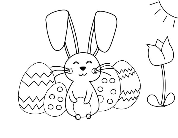 Printable Easter Coloring Pages - To Simply Inspire