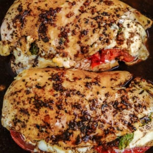 two chicken breasts